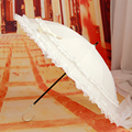 Lace Parasol Sun Lace Umbrella Vintage Style Handmade Umbrellas Wedding Bridal Party Wedding Accessories Princess Lace Accessory