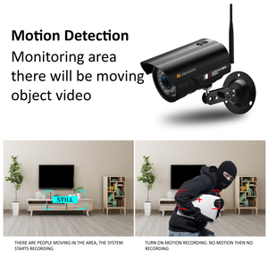 Image 3 - Jennov 8CH 1080P Wireless Wifi Home Security Camera System Outdoor CCTV Set Video Surveillance Kit IP Camera Wi fi 2MP Aduio Cam
