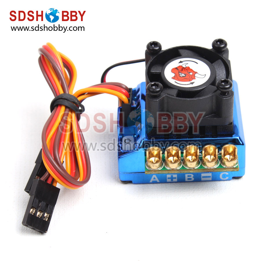 NEW Toro Brushless Sensored ESC 120A for 1 10 1 12 Scale Car