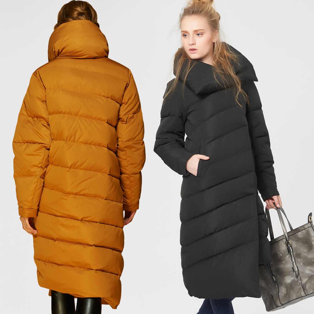 Высокое качество, новый модный тренд, дизайнерская модель 2019, зимняя женская парка на утином пуху, роскошная Европейская Женская длинная парка, куртки