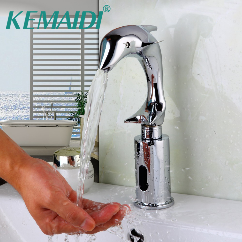 KEMAIDI New Art Design Luxury Automatic Faucet Bathroom Washbasin ...