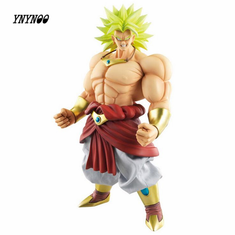 все цены на YNYNOO MODEL FANS Dragon Ball Z shf super saiyan 3 broli head figure toy for Collection (only head not have body) онлайн