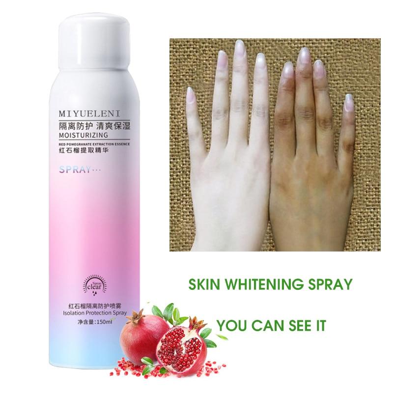150ML skin whitening spray…