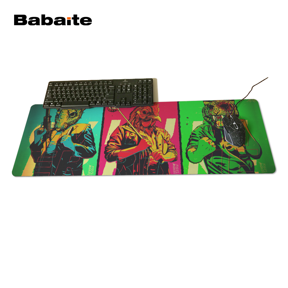 Babaite Hotline Miami Mouse pad 700x300x3mm pad to Mouse Notbook Computer Mousepad Big Gaming Padmouse Gamer to Laptop Mouse