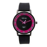 New Fashion Watch Women Luxury Flowers Printed Geneva Casual Wristwatch Ladies Elegant Popular Dress Clock Relogio