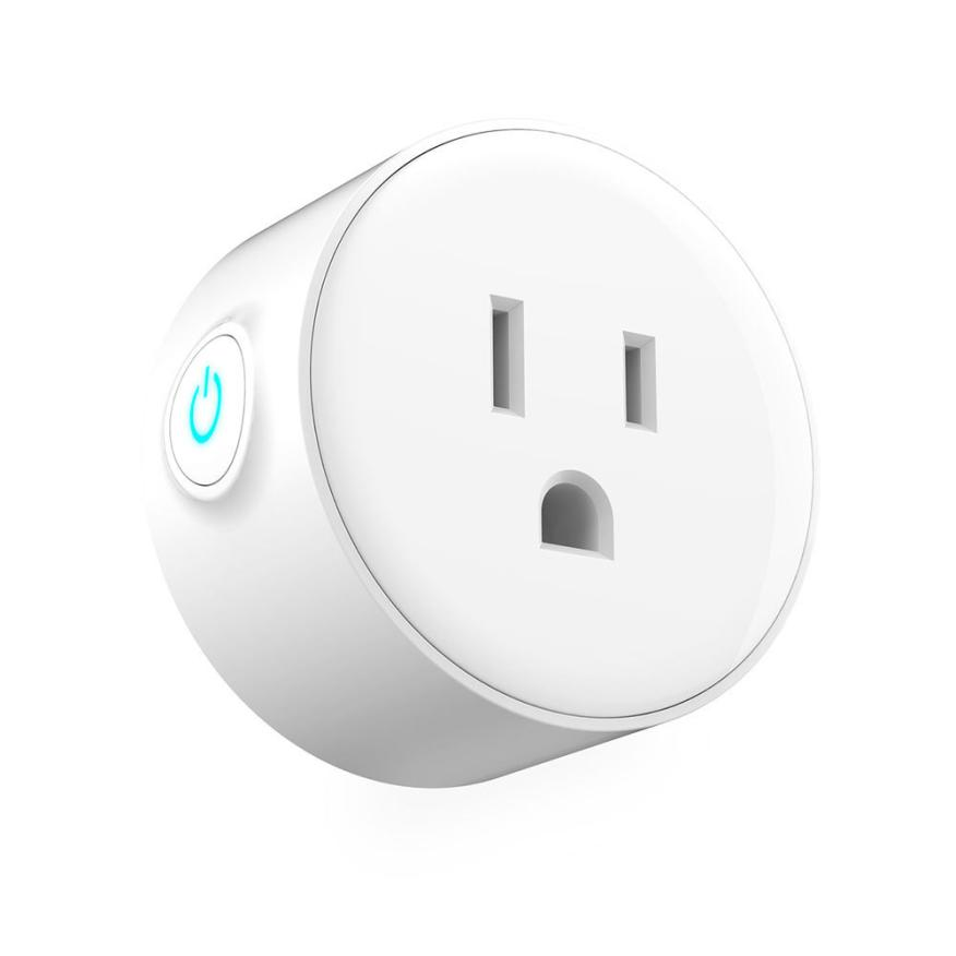 Home Smart socket Smart Plug Wi-Fi Enabled Mini Outlets Smart Socket Control Your Electric Devic mar15
