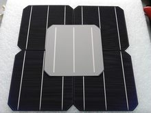50 PCS High Efficiency Up To 4.8Watt Solar Cell For Sale,Monocyrstalline Solar Cells 156x156(China)