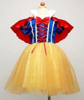Hot Sale 110cm 160cm Child Snow White Dress Halloween Cosplay Costume Dream Fairy Maiden Costumes Christmas