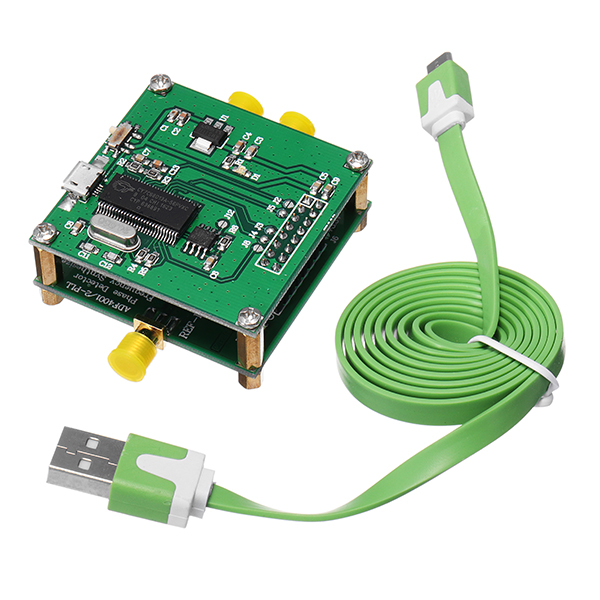 US $56 65 |ADF4002 RF Module PLL VCO 400MHZ Phase Detector Frequency  Synthesizer With ADI Control Board-in Integrated Circuits from Electronic