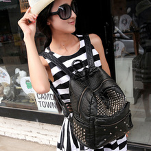 2016 новые Моды для женщин рюкзак сумка известный бренд мешок руки кожа леди клатчи диагонали mochila feminina kawaii путешествия рюкзак