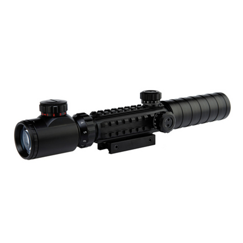 Hunting Riflescopes C3-9X32EG Red/Green Dot illuminated Airsoft Sights Scope Hunting Tactical Optical Air Gun Rifle Sight Scopes marcool 4 16x44 side focus front focal plane optical sights rifle scope hunting riflescopes for tactical gun scopes for adults