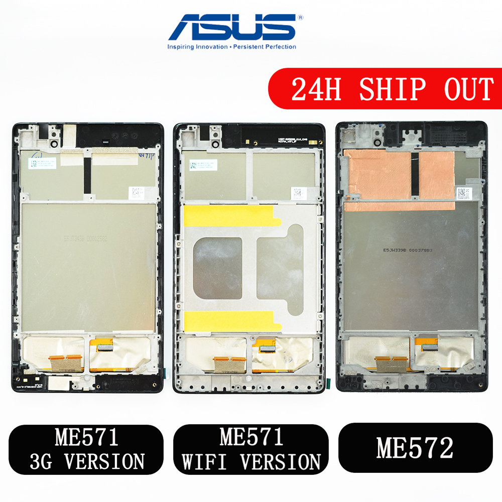 Für <font><b>ASUS</b></font> Google <font><b>Nexus</b></font> <font><b>7</b></font> 2nd <font><b>2013</b></font> FHD ME571 ME571K ME571KL ME572 ME572CL K008 K009 <font><b>LCD</b></font> Display Touchscreen Digitizer montage image