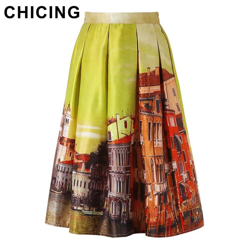 Popular Yellow Midi Skirt-Buy Cheap Yellow Midi Skirt lots from ...