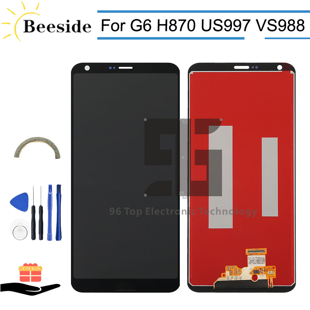 AA+ LCD With Frame For LG G6 LGM-G600K LGM-G600L LGM-G600S LG-H870 H870 US997 VS988 LCD Display Touch Screen Digitizer AssemblyAA+ LCD With Frame For LG G6 LGM-G600K LGM-G600L LGM-G600S LG-H870 H870 US997 VS988 LCD Display Touch Screen Digitizer Assembly