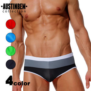 Swimming Trunks Surf Men's Beach for Gradient Color Shorts 207 Patchwork