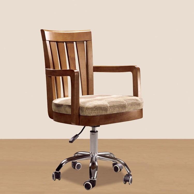 Compra madera silla de escritorio online al por mayor de for Silla computadora