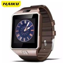 Soporte de Tarjeta SIM Reloj inteligente Bluetooth Smartwatch DZ09 Teléfono Cámara GSM/TF Hombres Reloj para IOS Android Teléfono VS U8 GV18 GT08