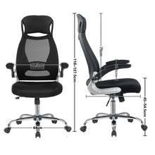 Офисное кресло черный Исполнительный эргономичный стул вращающееся