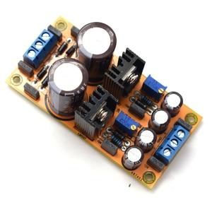Image 5 - Lusya diy lm317 lm337 dc 조정 가능한 전원 공급 장치 모듈 보드 포지티브 및 네거티브 조절 가능
