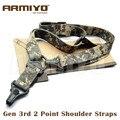 Armiyo Tactical gen 2 Pontos de Multi Missão Rifles Carry Sling Cintas de Ombro Ajustável Comprimento Acessórios de Arma de Caça ACU