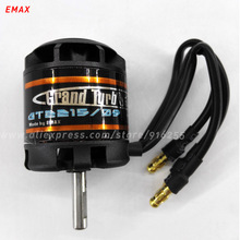 EMAX rc brushless outrunner motor airplane 905kv 1100kv 1180kv GT 4mm shaft 2-3s  28.5mm for aircraft electric vehicle parts