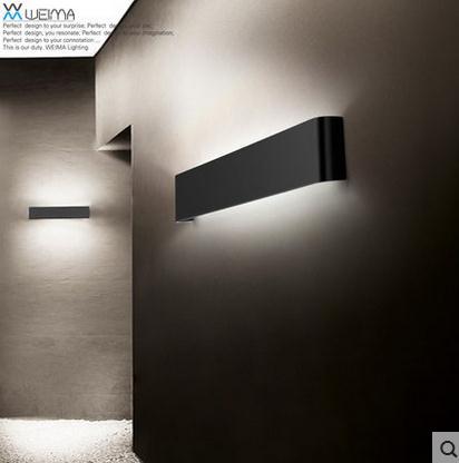 Moderno 14 w 41 cm lungo in alluminio applique led per interni lampade da parete in camera da - Applique led per camera da letto ...