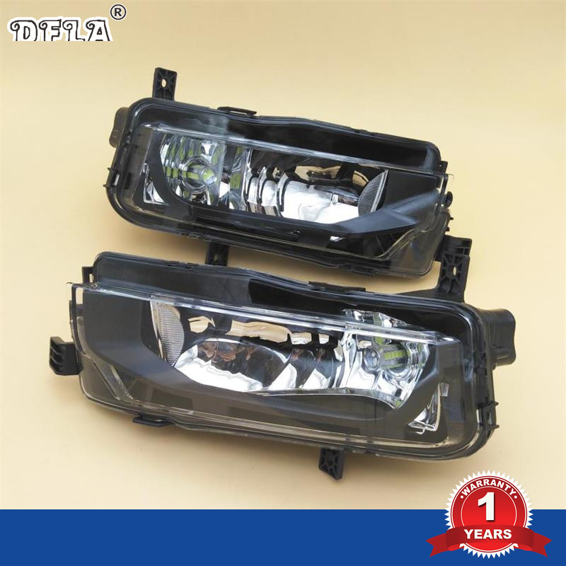 LED Light For VW Transporter Multivan T6 T7 Campmob 2016 2017 Car-Styling Front LED Fog Lamp Fog Light free shipping new pair halogen front fog lamp fog light for vw t5 polo crafter transporter campmob 7h0941699b 7h0941700b