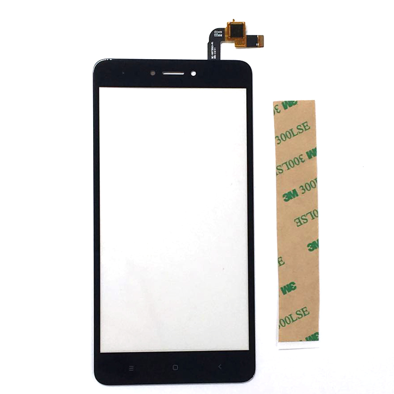 A Quality For Xiaomi Redmi Note 4 Global Snapdragon 625 TouchScreen Front Glass With Sensor Replacement-in Mobile Phone Touch Panel from Cellphones & Telecommunications