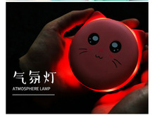 Personal heat appliance lovely circle pet warm hand treasure charge dualuse USB charge explosion proof makaron mini keep small