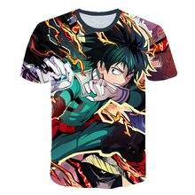 2019 New 3D My Hero Academy tshirt Men/Women Summer Harajuku T-shirt Sweatshirts O-neck