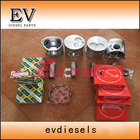 For excavator engine SHIBAURA N844 N844T piston and piston ring set N844L main beairng con rod bearing