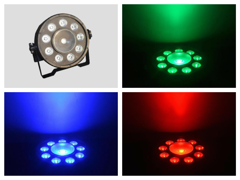 ФОТО 20pcs/lot, RGBW 9+1 LED Par Light 9x10W RGB+1x30W COB DMX 8CHS Stage wall wash Disco Lighting DJ Equipment Party Home