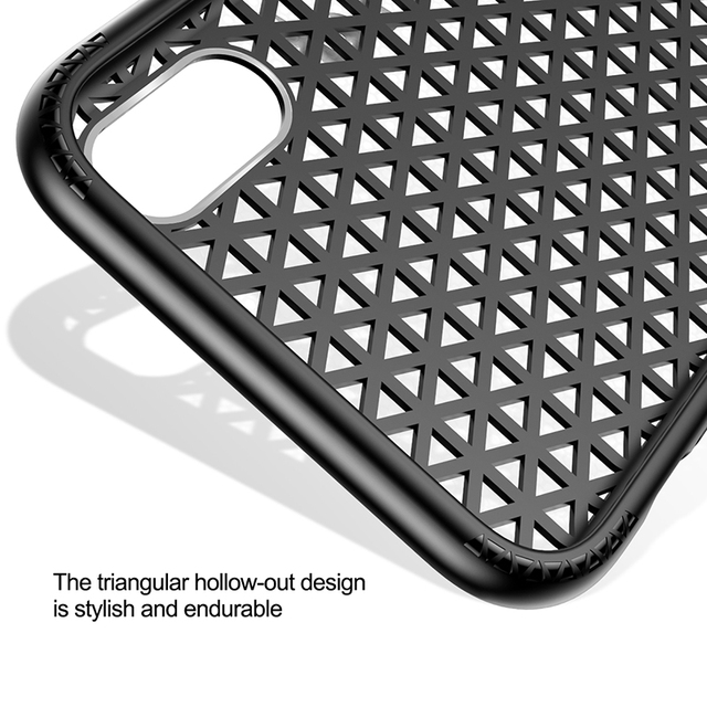 Baseus Breath Phone Case For iPhone X 10 Luxury Ultra Thin PC & TPU Heat Dissipation Cover Case For iPhoneX Coque Funda Capinhas
