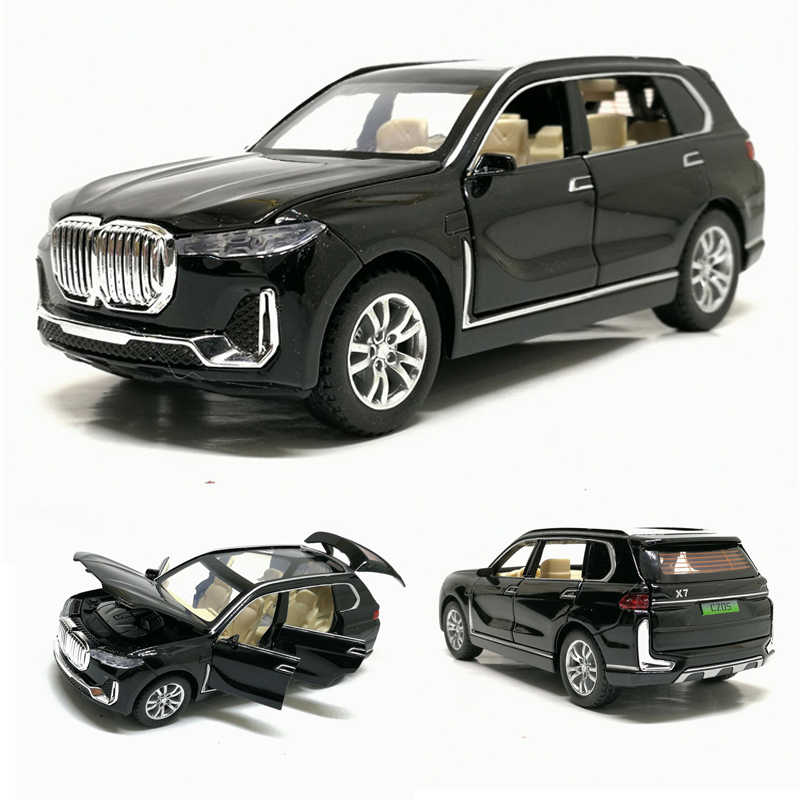 1:32 X7 High Simulation Alloy SUV Car Model Toy Cars Diecast X7 Pull Back Off-road Vehicles For Children Toys Free Shipping