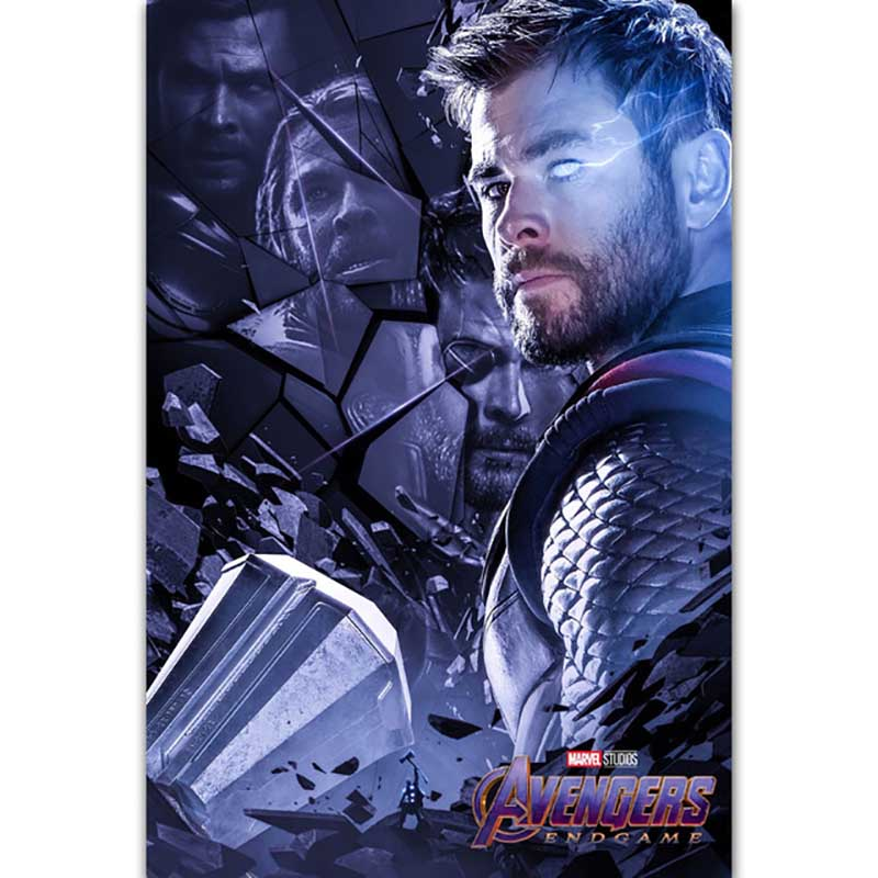 Avengers THOR Iron Man Marvel Movie Painting Full Square Drill DIY Diamond Embroidery Sale Picture Mosaic Home Decorative in Diamond Painting Cross Stitch from Home Garden