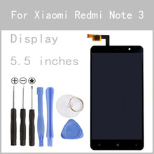 Original LCD For Xiaomi Redmi Note3 Display Screen Digitizer Touch Screen Hongmi Note 3 Pro Prime Glass Panel 5.5Inch FreeTools