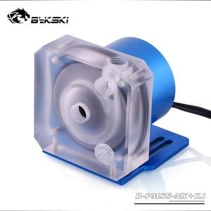 Автоматическая скорость Bykski PWM 18 Вт насос/макс. 5000 об/мин/поток 1100л/ч дата-отзывы/TDP 23 Вт Ручная регулировка скорости 1500л/ч