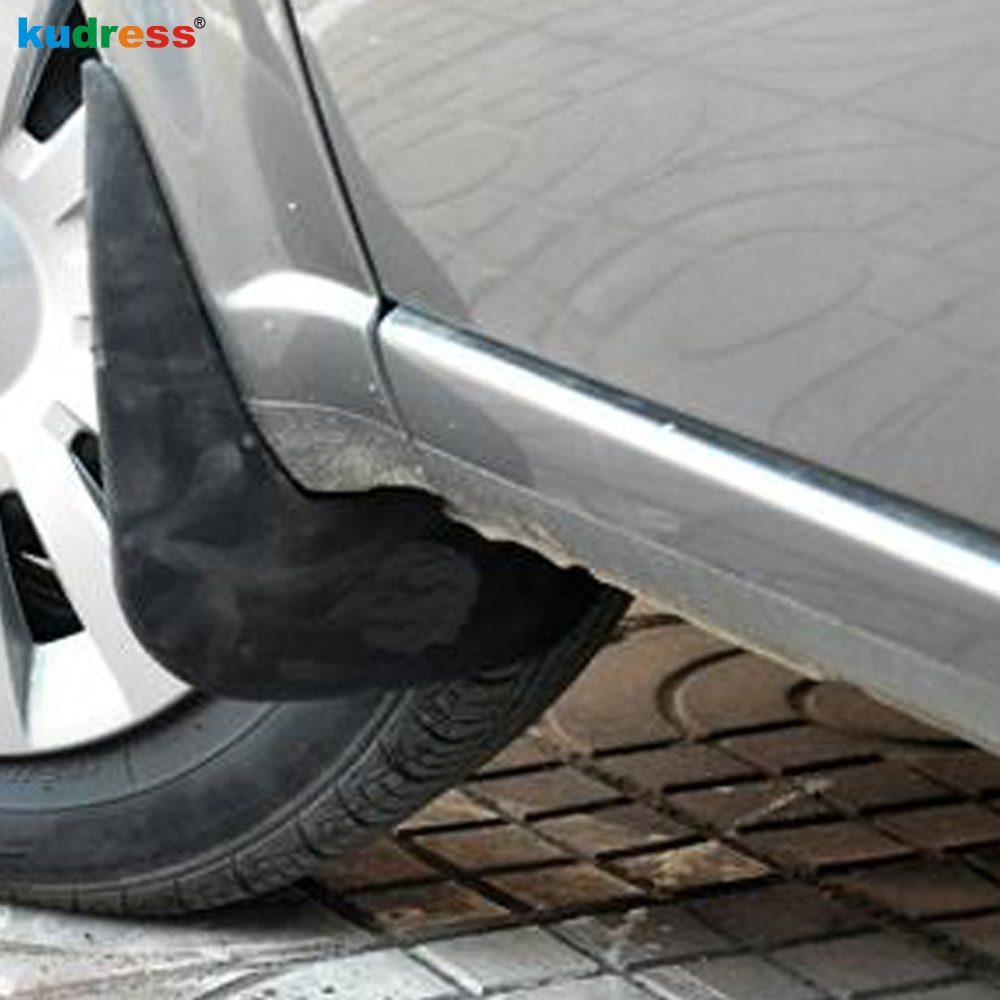 For Volkswagen Teramont Atlas 2017 2018 Plastic Car Mudguard Accessories Mud Flaps Splash Guards Cover Fender