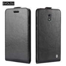 Vertical leather Flip Cover Case For Nokia 2 Dual Sim Cases Magnetic UP Down for nokia / 1 Protective Phone Bag Fundas