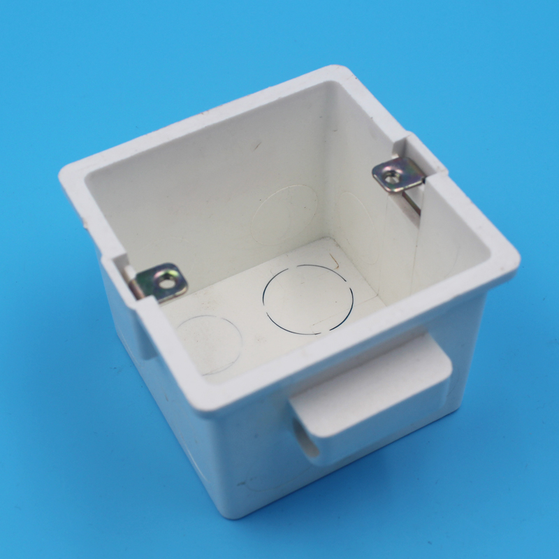 General Type Switch Socket Wiring Bottom Box 80 80 60mm