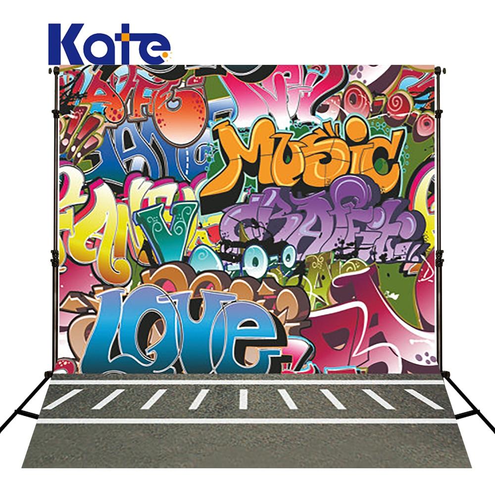 KATE Photography Backdrops Fond Photographie Graffiti Background Photography Backdrops Children Concrete Floors Backgrounds сумка kate spade new york wkru2816 kate spade hanna