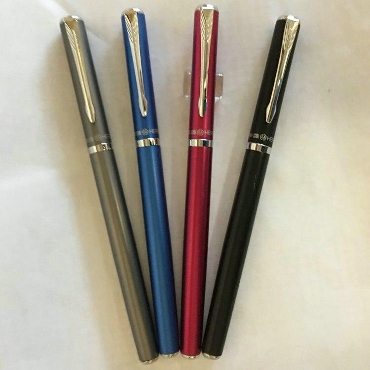 Hero 3266 Luxo 0.5mm Aço Iridium Nib Fountain Pen Canetas de Tinta de 360 Graus Frete Grátis