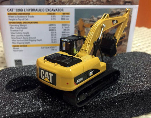 US $35 91 10% OFF|Caterpillar Cat 320D L Hydraulic Excavator Ho Scale By  Diecast Masters 85262-in Diecasts & Toy Vehicles from Toys & Hobbies on