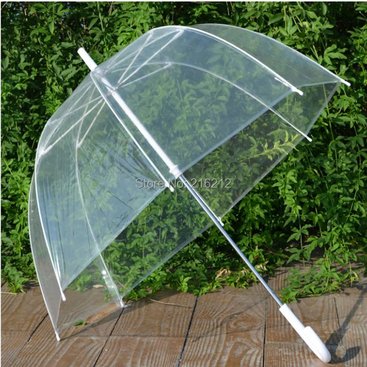 34 big clear cute bubble deep dome umbrella gossip girl for Wind resistant material