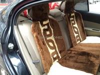 1 компл. роскошные накидки на сиденье автомобиля из овчины с короткими ворсами/делюкс авточехол