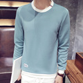 TIC-TEC men pullover knitting fashion o-neck Hoodies Sweatshirts plus size P2666