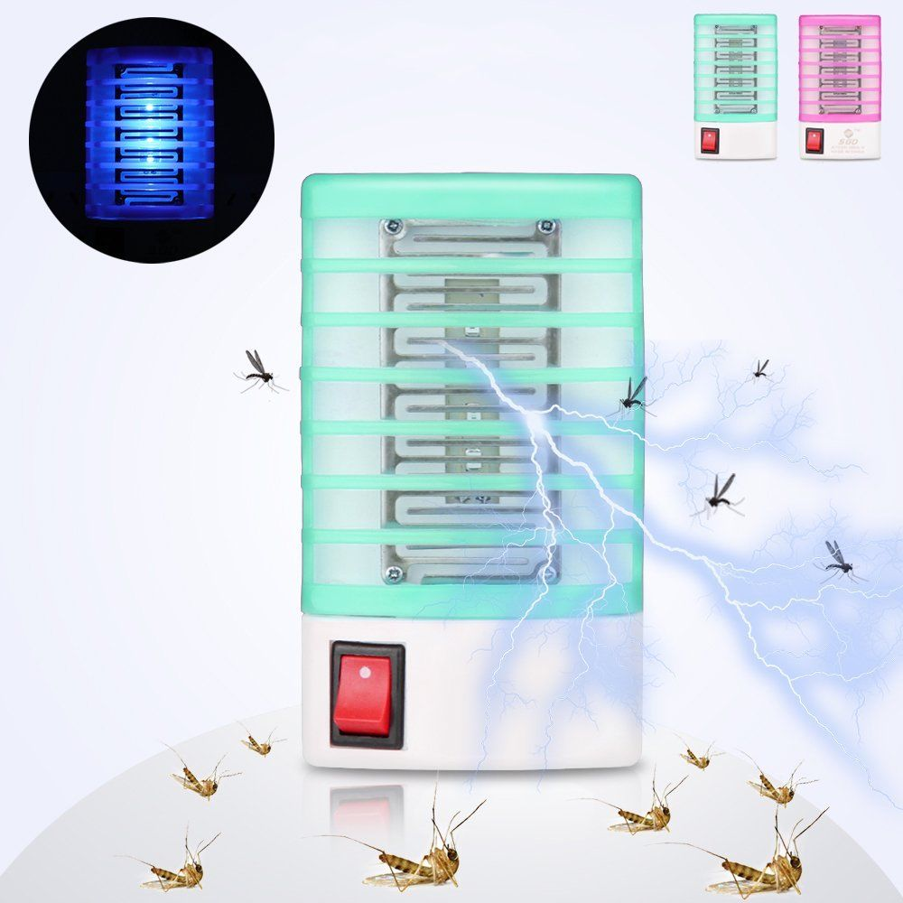 1PCS Mosquito Killer Lamp Anti Mosquito Repellent Electric Mosquito Fly Bug Insect Trap Killer Zapper US EU Plug Pest Control