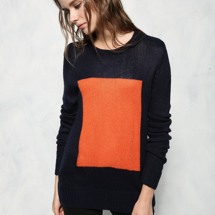 font b women s b font woollen wool sweater high quality celebrity fashion plus loose