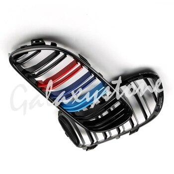 M colore Lucido Black Front Rene Griglia Per BMW E92 E93 LCI 2 Dr 2011 2012 2013 2014