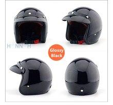 Capacete da motocicleta apoio New Retro Moda Motos cafe racer capacete Unisex Homens E Mulheres Capacete Da Motocicleta Capacete de Motocross
